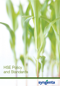 HSE Policy and Standards